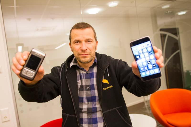 Hagberg SmartDok mobiltelefoner