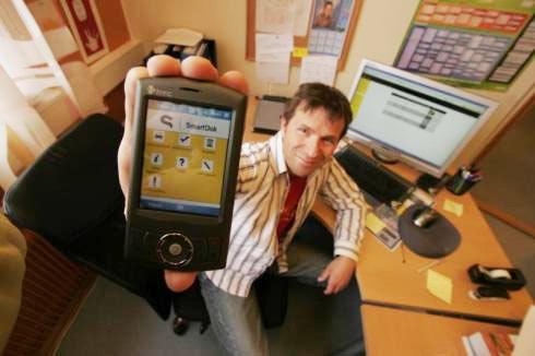 SmartDoks initiala affärsidé var just att kunna dokumentera med GPS-taggade bilder