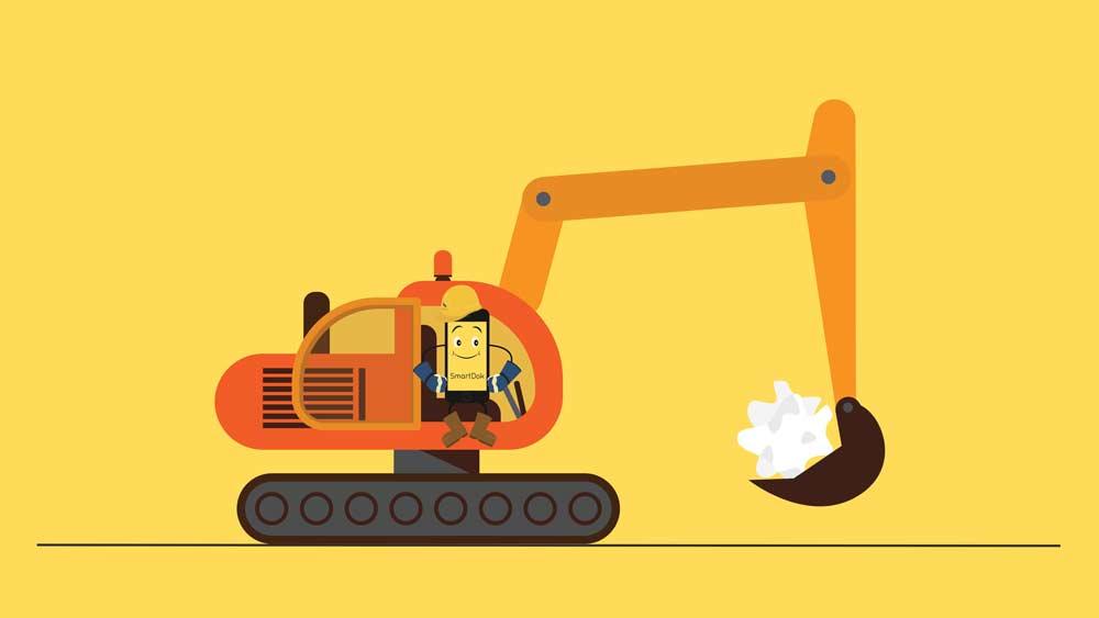 smartdok grävmaskin