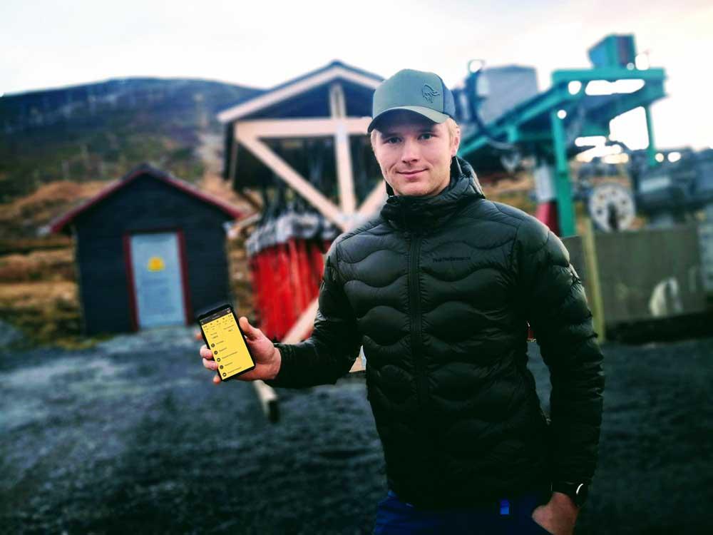 Norska Tromsö Alpinpark började inför fjolårets skidsäsong med ett digitalt system (SmartDok) för att underlätta arbetet med säkerheten på anläggningen