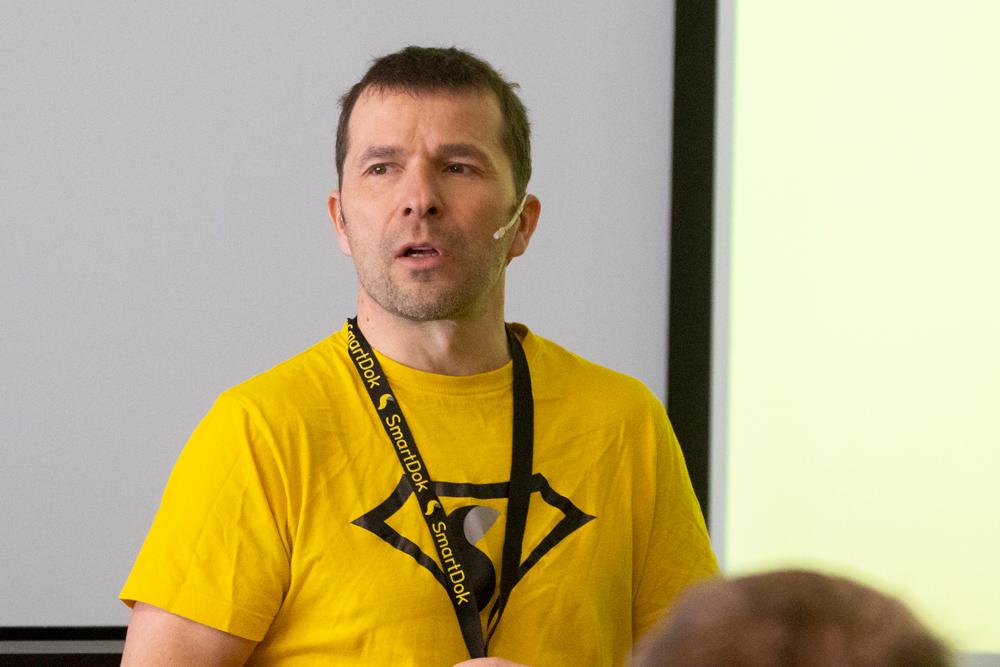 Bjørn Tore Hagberg gründer av SmartDok
