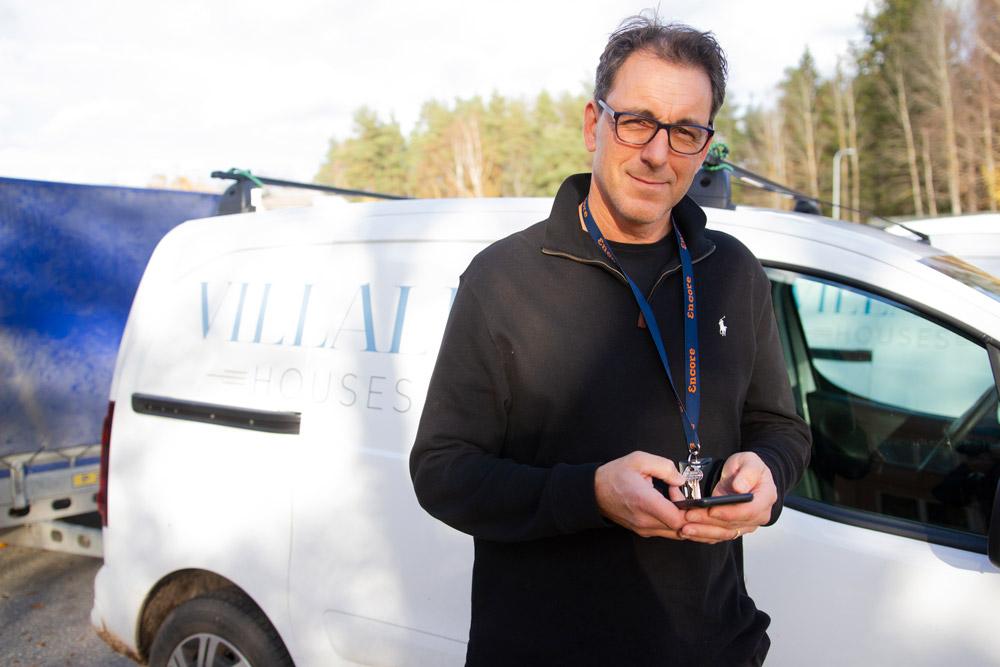 Villalid grundades år 2005 av Mikael och Mia Hägerlid, som i starten specialiserade sig på villabyggen.