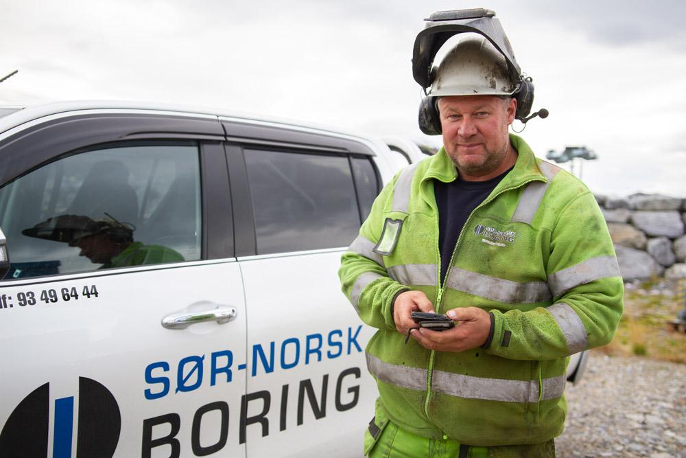 Sør-Norsk Boring använder SmartDok som en integrerad del av projektarbetet.